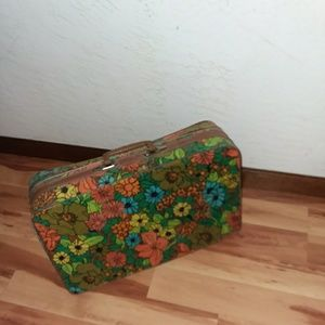 One-of-a-kind vintage suitcase